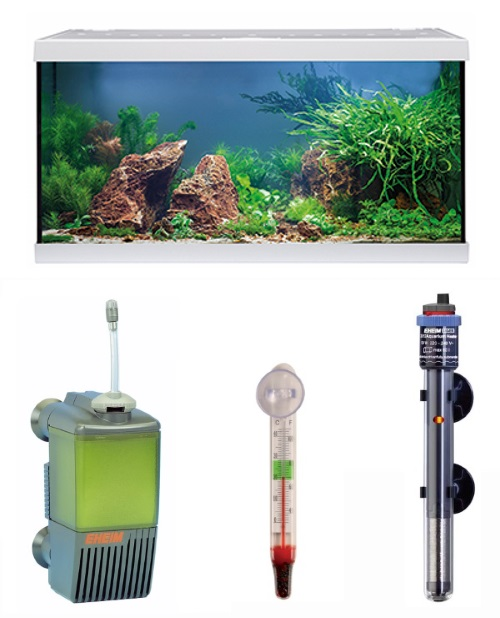 EHEIM aquastar 54 LED white aquarium